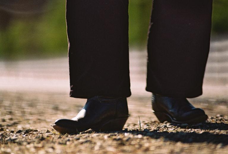 Boots in Hidden Valley, CA