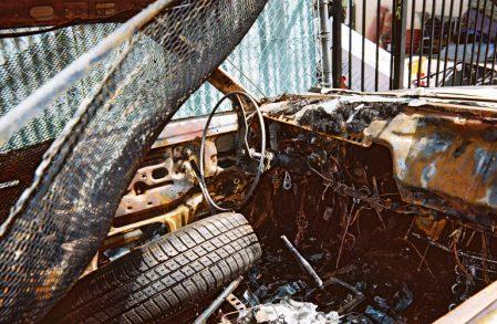The Bucket Interior-Steering Wheel 1