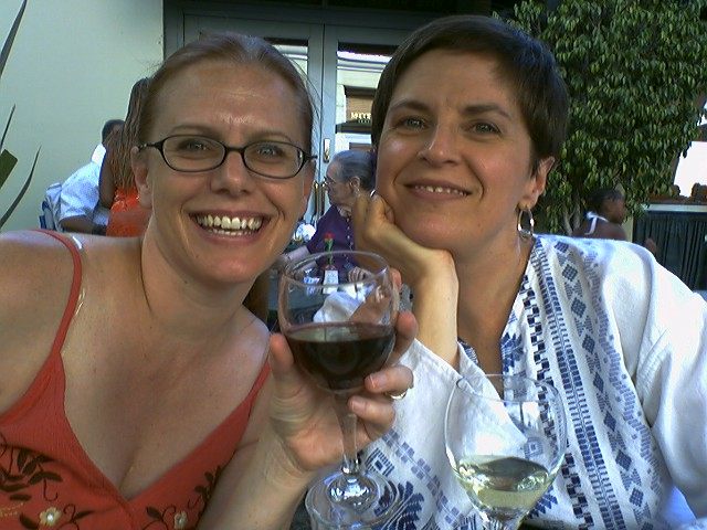 Kim & Lilli at McCormick & Schmick's