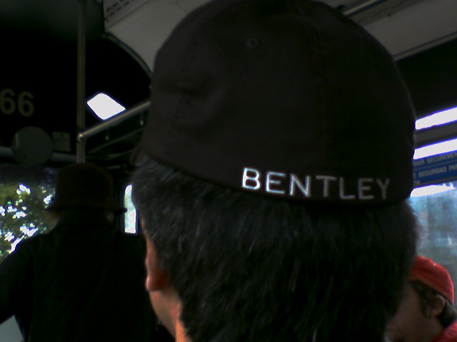Bentley cap