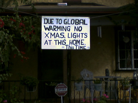 No Xmas Lights