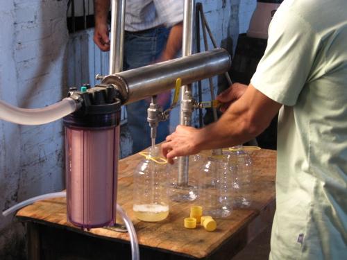 Autlan destiladora plastic bottles