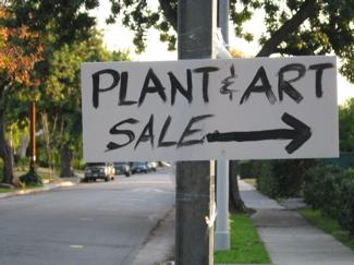 Plant & Art Sale