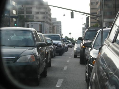 traffic on lake 1
