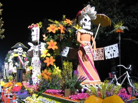 Dia de los Muertos back