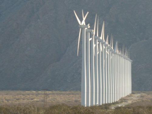 Wind Farm Row
