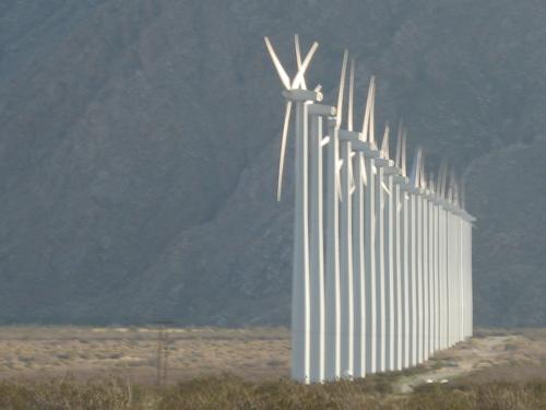 Wind Farm Row