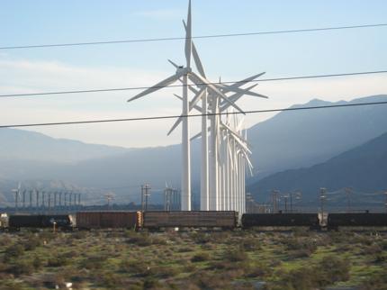 Wind Farm 7 Train