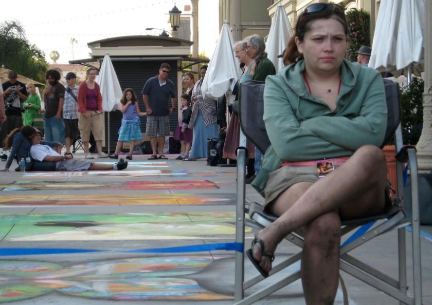 Chalk Fest 09 artist