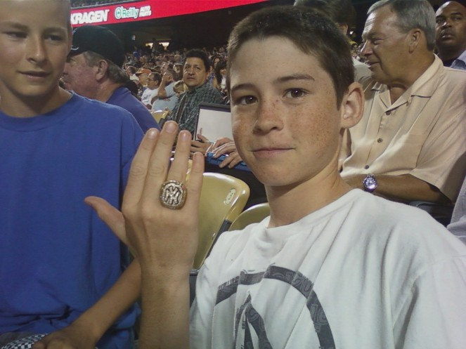 Brothers with ring